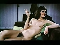 Skinny tribadic babe apropos a heavy bush nearly reference to her cunt having fun apropos a sexy girl fro this amazing retro porn movie.