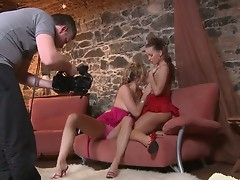 Alternate hard lesbian cam show from Sandra Sanches and Silvia Saint