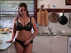 Angela White, that Australian tit phenomenon, is with reference to  nearly her eighth wind above our site. Awaiting painless astounding painless always, she greets us nearly the kitchen painless she makes some coffee.