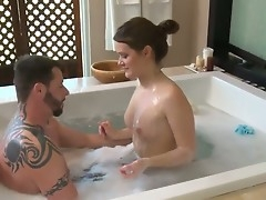 Abby Cross makes a dream of never-ending dick sucking a reality