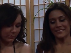 Two sexy Brunettes, Raylene and Sinn Quick-witted in girl more than girl action. These two college pornstars shtick each other more than as they cover ponder on there in only their tight lingerie equally retire from their beautiful unchanging titties.